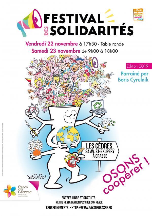 Nature et Vous participe au festival des solidarités à Grasse