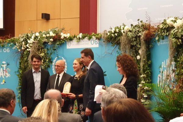 Osevie reçoit le Trophée Plan Climat Energie